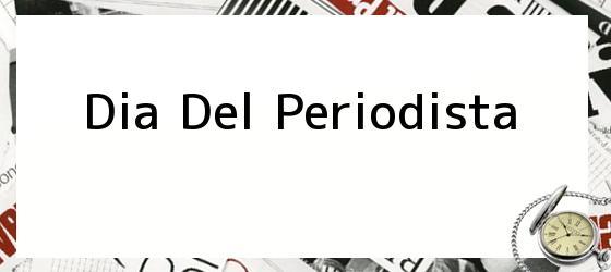 Dia Del Periodista