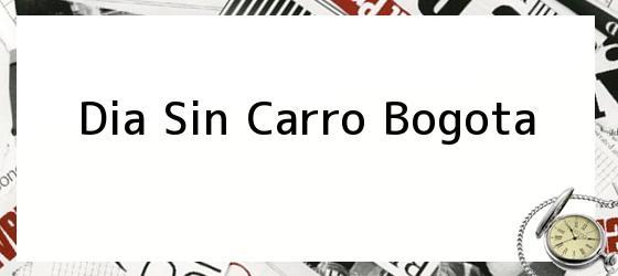 Dia Sin Carro Bogota