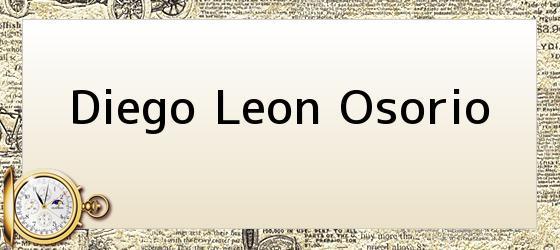 Diego Leon Osorio