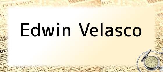 Edwin Velasco