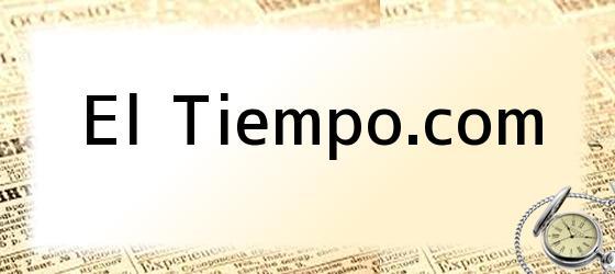 El Tiempo.com