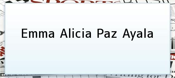 Emma Alicia Paz Ayala