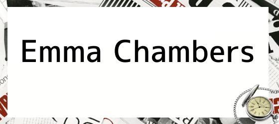 Emma Chambers