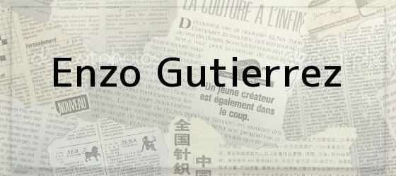 <i>Enzo</i> Gutierrez