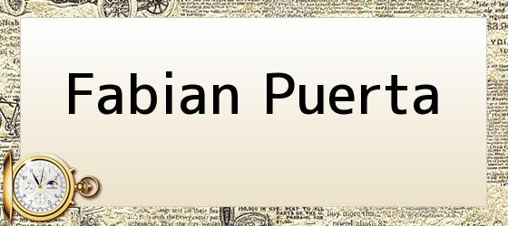 <i>Fabian Puerta</i>
