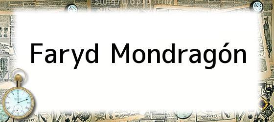Faryd Mondragón