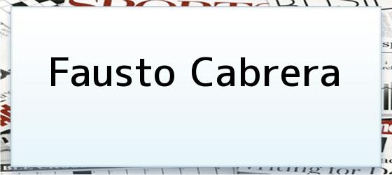 Fausto Cabrera