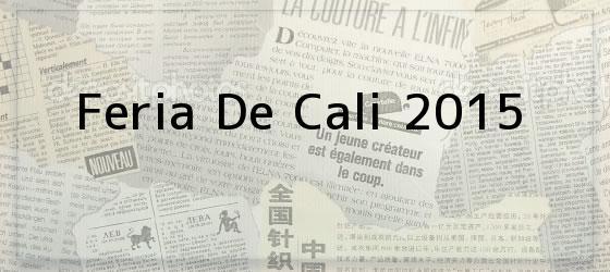 Feria de Cali 2015