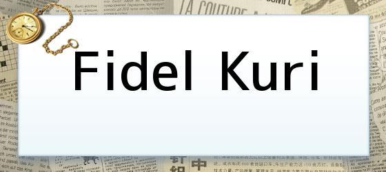 Fidel Kuri