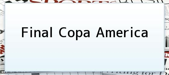 Final Copa America