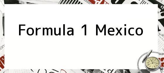 Formula 1 Mexico