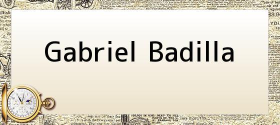 Gabriel Badilla