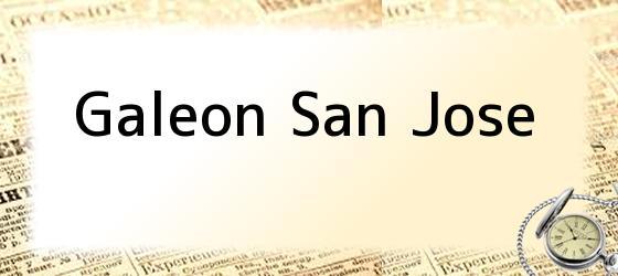 <i>Galeon San Jose</i>