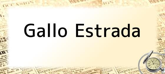 Gallo Estrada