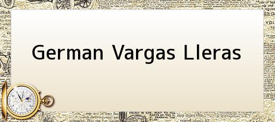 German Vargas Lleras