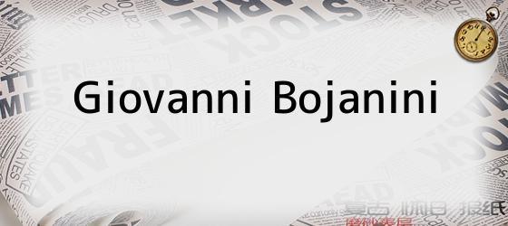 Giovanni Bojanini