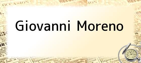 Giovanni Moreno