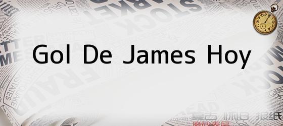 Gol De James Hoy