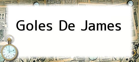 Goles De James