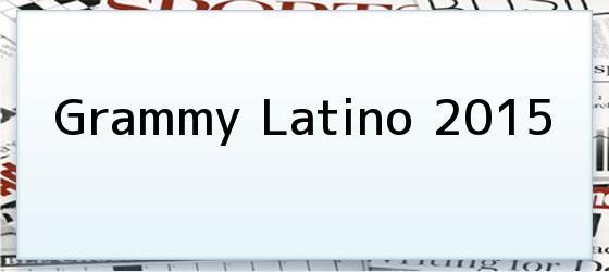 Grammy Latino 2015