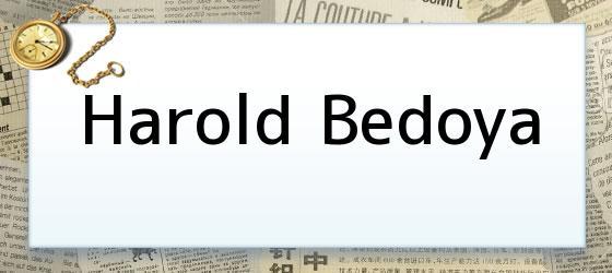 Harold Bedoya