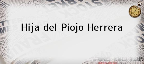 Hija del Piojo Herrera