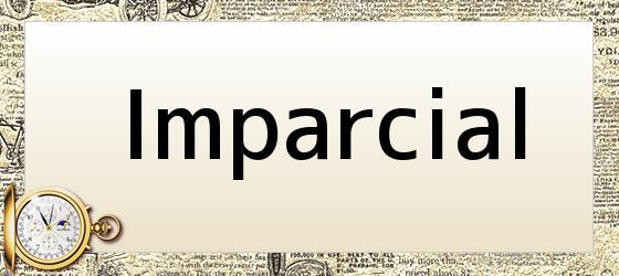 Imparcial