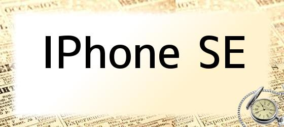 <i>iPhone SE</i>