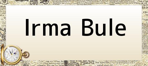 Irma Bule