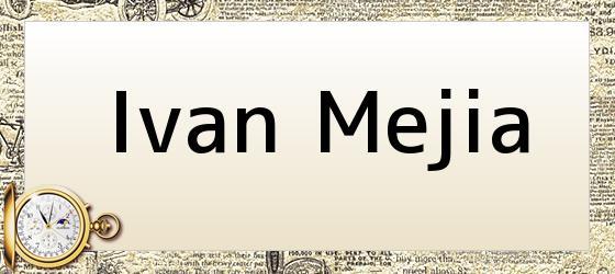 Ivan Mejia