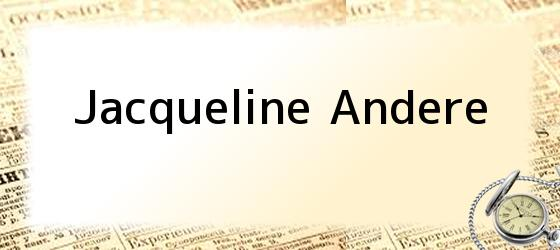 Jacqueline Andere