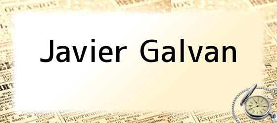 Javier Galvan