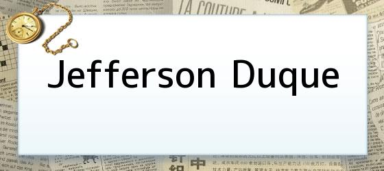 Jefferson Duque