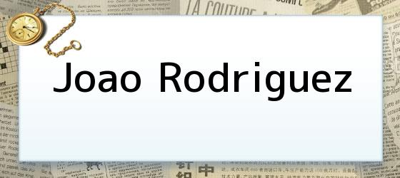 Joao Rodriguez