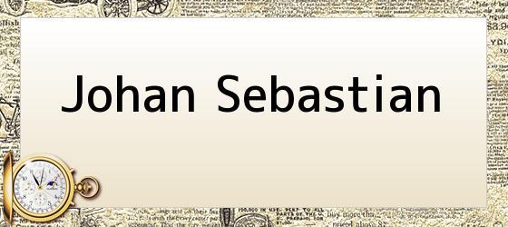 Johan Sebastian