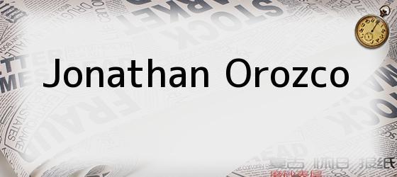 Jonathan Orozco