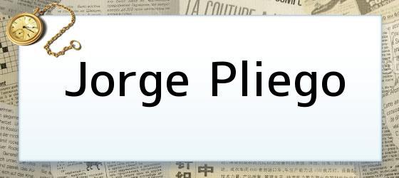 Jorge Pliego