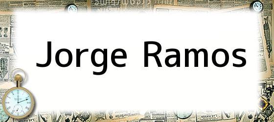 <i>Jorge Ramos</i>
