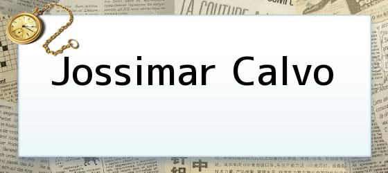 Jossimar Calvo