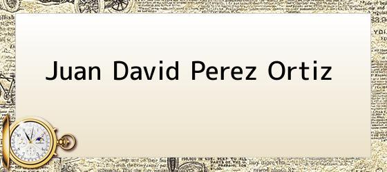 Juan David Perez Ortiz