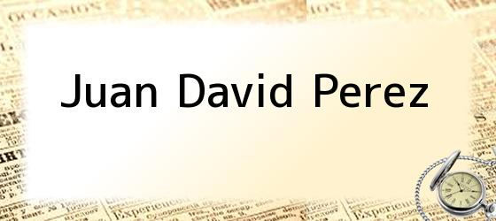 Juan David Perez