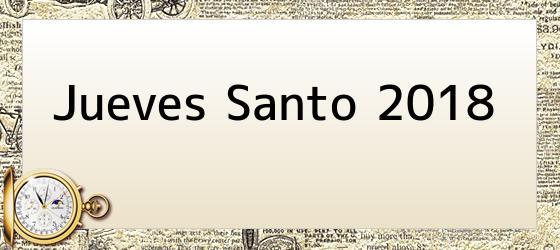 Jueves Santo 2018