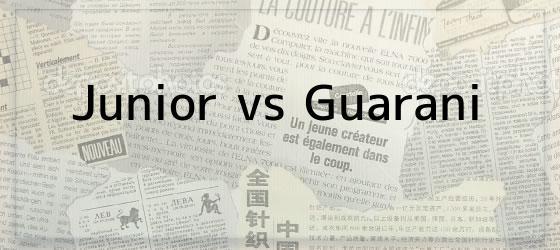 Junior vs Guarani