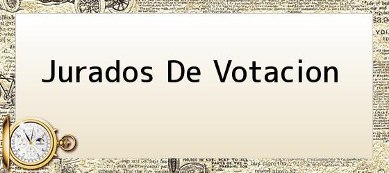Jurados De Votacion