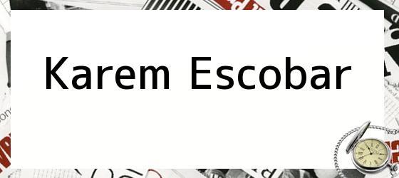 Karem Escobar