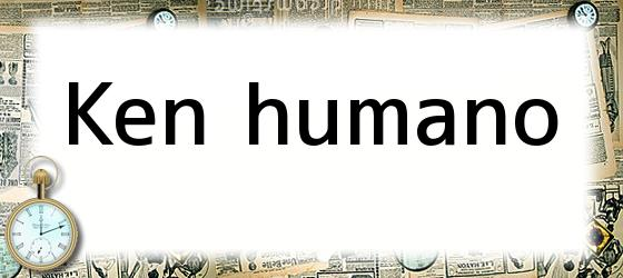 Ken humano