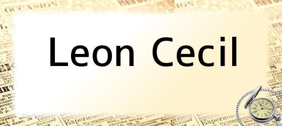 Leon Cecil