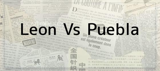 Leon Vs Puebla