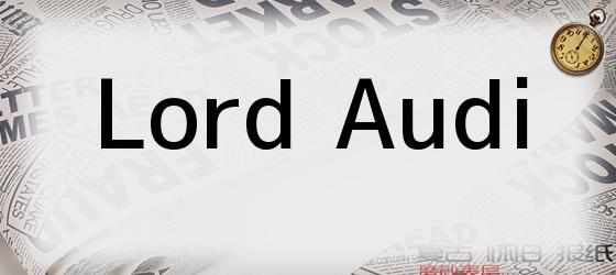 Lord Audi