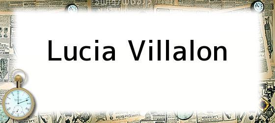 <i>Lucia Villalon</i>